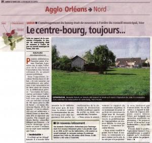 Article de la République du Centre du 17-03-2012